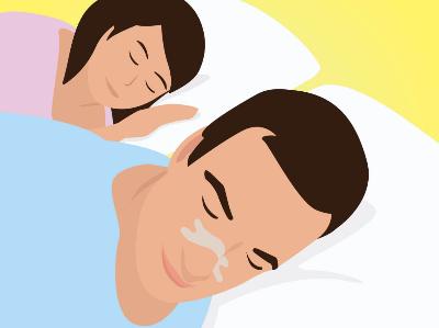 Remedies tegen snurken: neuspleisters