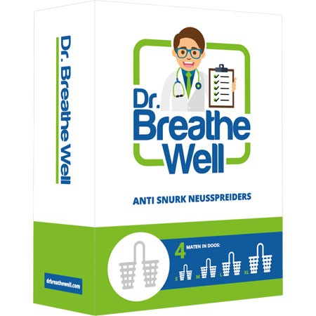 Anti snurkmiddelen: neusspreider van Dr. Breathe Well