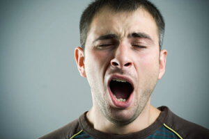 Snurken gevaarlijk - vermoeidheid