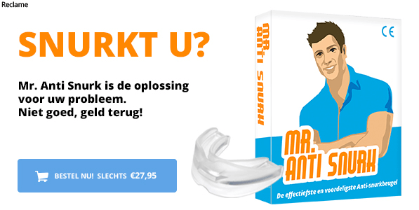 Alternatief voor tongstabilisator: Mr. Anti Snurk