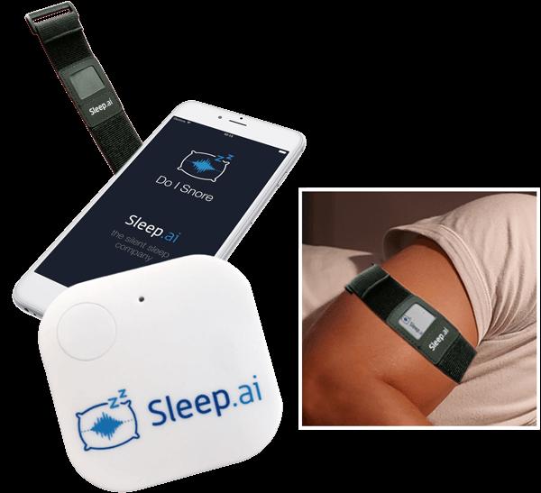 Hulpmiddelen tegen snurken: Sleep.ai