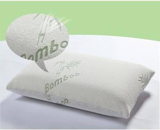 Bamboe kussen tegen snurken