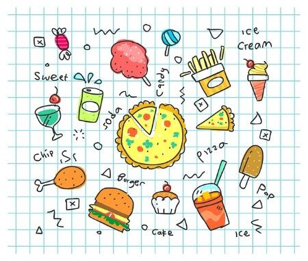 Moe wakker worden door ongezonde voeding
