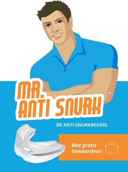 Mr. Anti Snurk voorkant verpakking